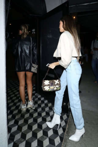 Madison Beer Arrives for dinner at Craig's restaurant in West Hollywood