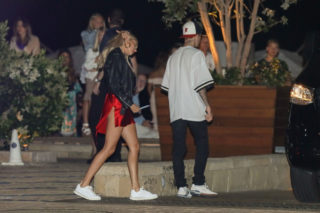 Hailey Baldwin and Justin Bieber Leaves Nobu in Malibu