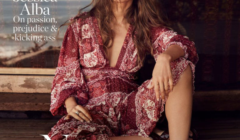 Magazine Covers – Jessica Alba Fashion The Edit by Net-a-Porter May 2019