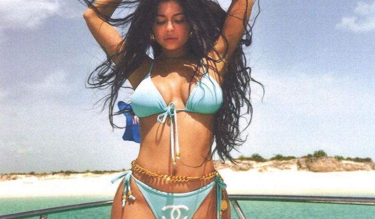Celebrity Photoshoot – Kylie Jenner in Amber Asaly 2019 Bikini Photoshoot