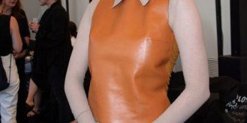Larsen Thompson at Acne Show as Part Paris Haute Couture Fall/Winter 2019/2020