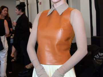 Larsen Thompson at Acne Show as Part Paris Haute Couture Fall/Winter 2019/2020