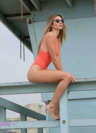 Rachel McCord in Swimsuit Photoshoot on Venice Beach