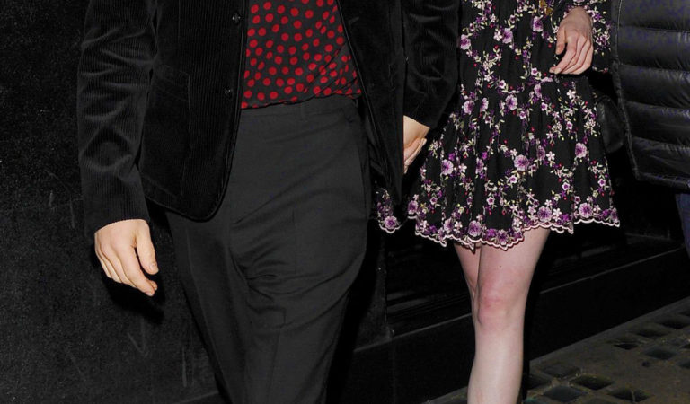 Celebrity Night Out – Lucy Boynton and Rami Malek