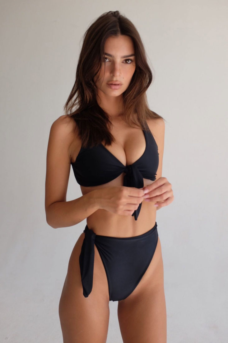 Emily Ratajkowski for Inamorata Swimwear, September 2019