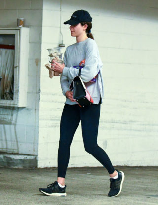 Emmy Rossum Out Shopping In Los Angeles