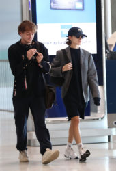 Natalia Dyer and Charlie Heaton Arrives at Charles de Gaulle Airport in Paris