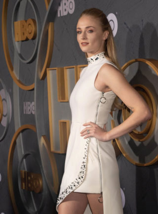 Sophie Turner at HBO Primetime Emmy Awards After Party