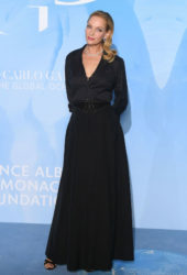 Uma Thurman at Gala for the Global Ocean in Monte-Carlo, Monaco