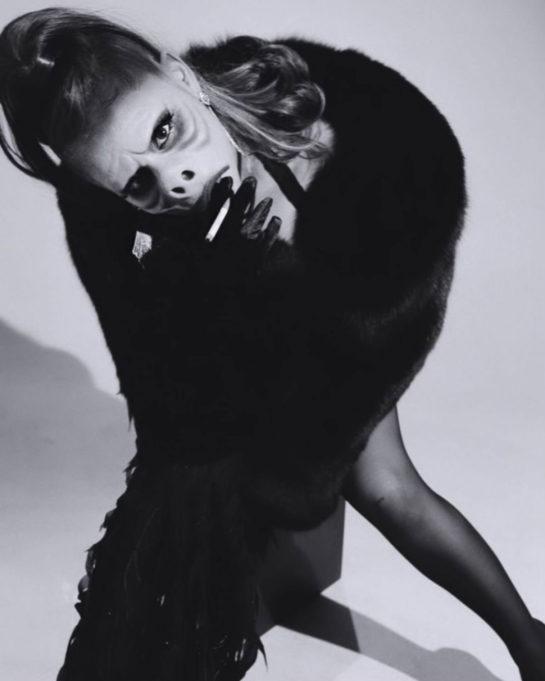 Ariana Grande at Halloween Party Instagram photos
