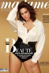 Ashley Graham in Madame Figaro Magazine, France October 2019