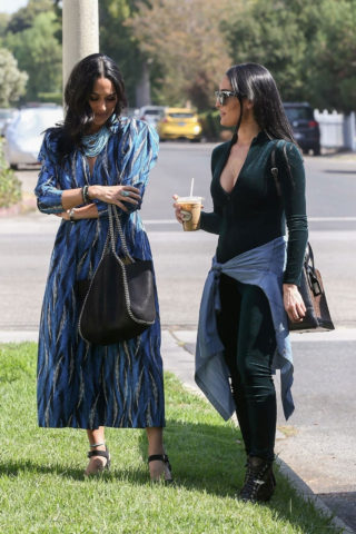 Brie Bella & Nikki Bella Out in Studio City