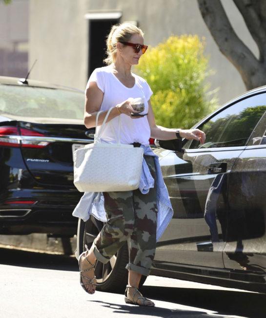 Cameron Diaz Out and About in Los Angeles