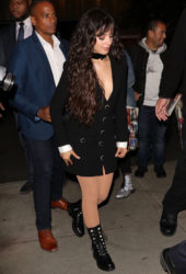 Camila Cabello Arrives at SNL After-Party in New York