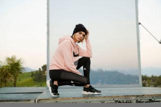 Cara Delevingne for Puma's Nova Suede 2019 Collection