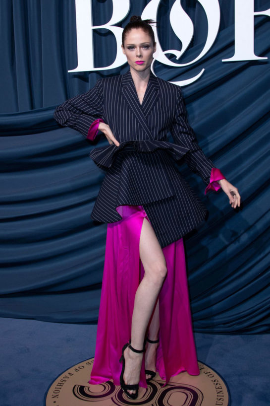 Coco Rocha at Bof 500 Gala at Paris Fashion Week