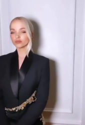 Dove Cameron Getting Ready for Elle & Ferragamo Hollywood Rising Celebration – Instagram Video