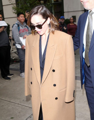 Emilia Clarke Out and About in New York
