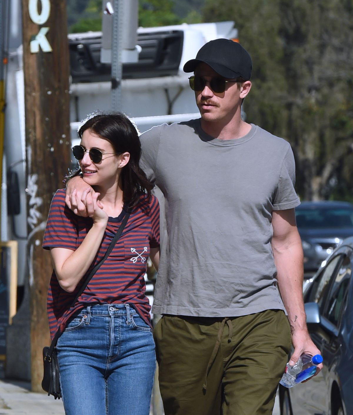 Street Style - Emma Roberts and Garrett Hedlund Out in Los ...