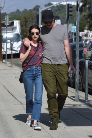 Emma Roberts and Garrett Hedlund Out in Los Angeles