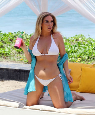 Frankie Essex in Bikini on Holiday in Bali