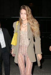 Gigi Hadid Out for Dinner in New York