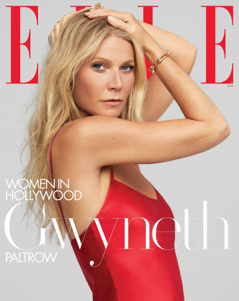 Gwyneth Paltrow in Elle Magazine's Women in Hollywood issue, November 2019