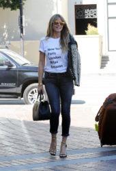 Heidi Klum Arrives at Americas Got Talent Champions in Pasadena