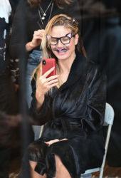 Heidi Klum Costume Unfold on Amazon Display Window Live Begins in New York