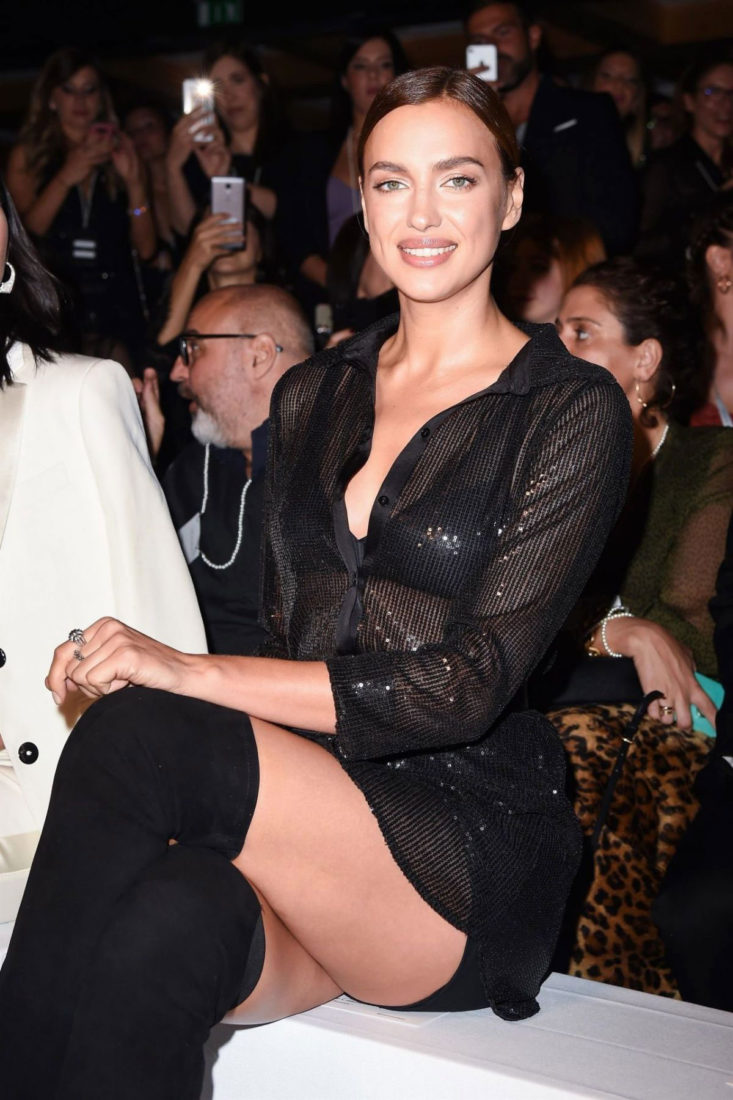 Irina Shayk at Intimissimi Show in Verona