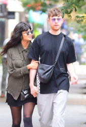 Jameela Jamil and James Blake Out in New York