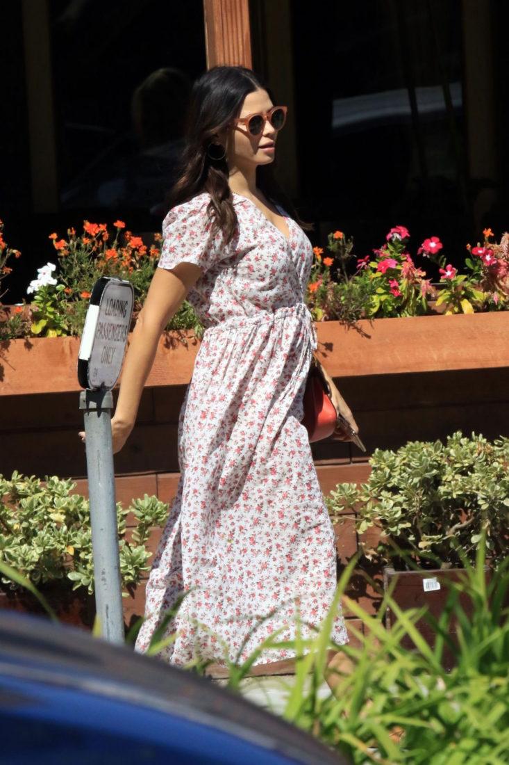 Jenna Dewan Out in Studio City