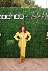Kalani Hilliker at boohoo x Taylor Hill Tea Party in Malibu
