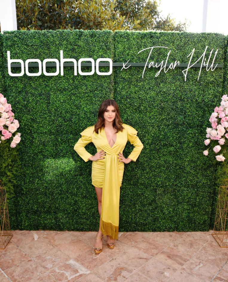 Kalani Hilliker at boohoo x Taylor Hill Tea Party in Malibu