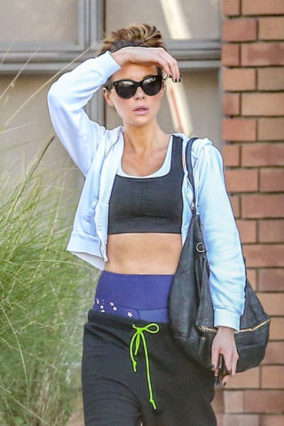 Kate Beckinsale Heading to Dance Class in Pacific Palisades
