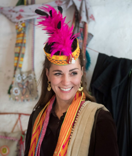 Kate Middleton Visits a Settlement of Kalash People in Chitral, Pakistan