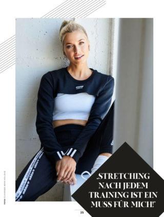Lena Gercke in Shape Magazine, Germany November 2019