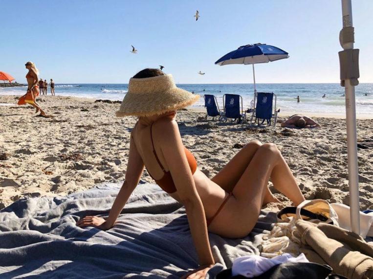 Maia Mitchell in Bikini Instagram photo
