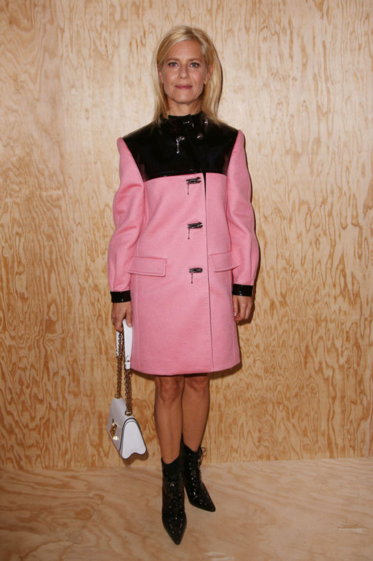 Marina Fois at Louis Vuitton Fashion Show in Paris