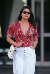 Priyanka Chopra Out and About in Los Angeles