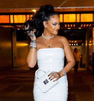 Rihanna at Her Hairstylist Yusef Williams' Porcelain Ball in New York