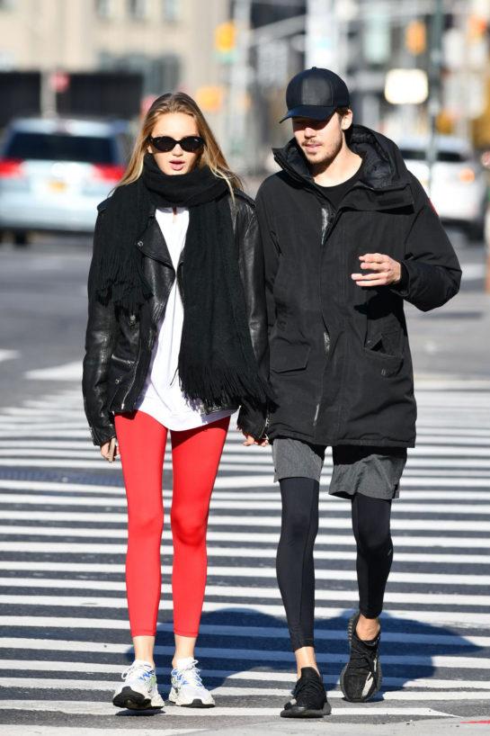 Romee Strijd and Laurens van Leeuwen Out in New York