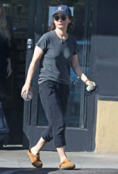 Sara Gilbert Out and About in Los Angeles