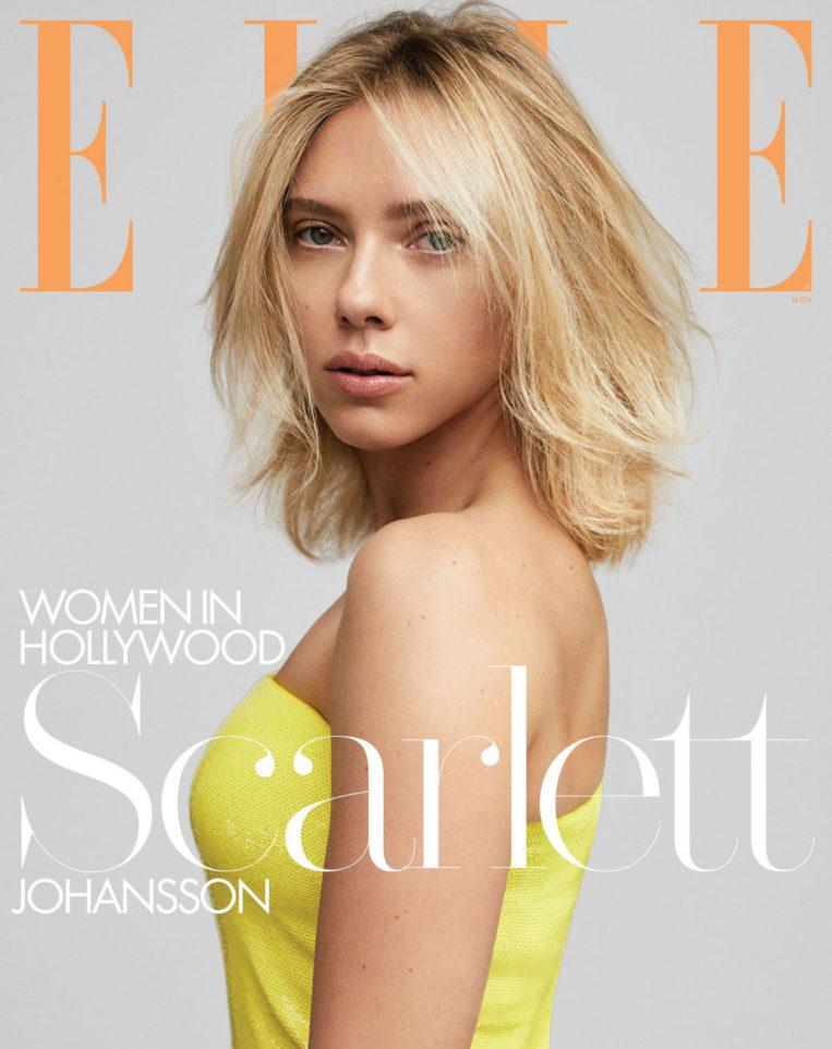 Scarlett Johansson in Elle Magazine's Women in Hollywood issue, November 2019