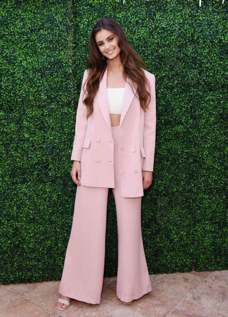 Taylor Hill at boohoo x Taylor Hill Tea Party in Malibu