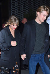 Taylor Swift and Joe Alwyn Leaves SNL After-Party in New York