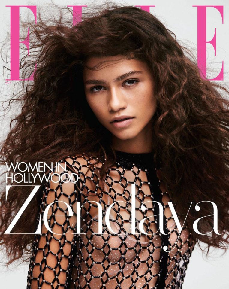 Zendaya in Elle Magazine's Women in Hollywood issue, November 2019