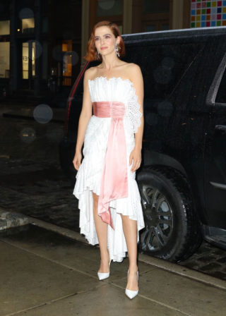Zoey Deutch Night Out in New York