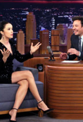 Abigail Spencer at Tonight Show Starring Jimmy Fallon
