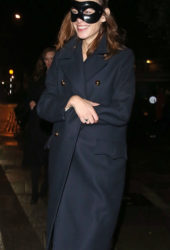 Alexa Chung Leaves Laylow Halloween Party in London